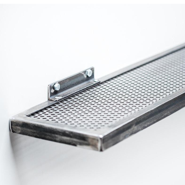 etagere acier rectangulaire brut