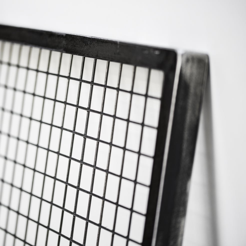 cadre grillage acier photo
